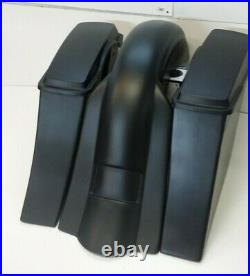 Road Star 6 Stretched Saddlebags replacement fender & Stock lids Fits