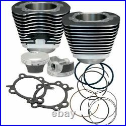 S&S Cycle 106 Big Bore Engine Pistons Cylinders Kit Harley Softail Dyna Touring