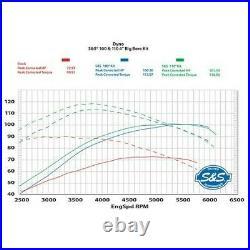 S&S Cycle 4 Sidewinder 100 Big Bore Kit'99-'06 HD Big Twin Cam Wrinkle Blac
