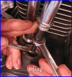 S&S Quickee Adjustable Pushrods Kit Set Harley Evo Evolution Big Twin Dyna FXST