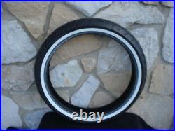 Shinko 120/70-21 WWW F777 White Wall 68v Reinforced Front Tire For Harley Models