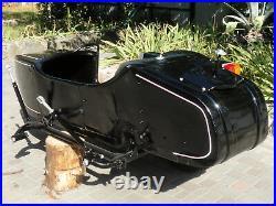 Sidecar Dnepr. Compatible for Motorcycle BMW Kawasaki Harley Davidson Honda etc