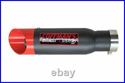 Suzuki GSXR 600/750 2001 2002 2003 2004 2005 Coffman Shorty Exhaust (NEW)