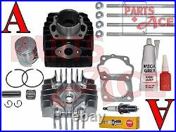 Suzuki Jr 50 JR50 Piston Rings Cylinder Gasket Top Kit Set 1985-2006 85-06