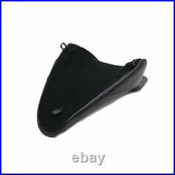 V-Twin Black Butt Bucket Solo Seat for 2000-2005 Harley Softail