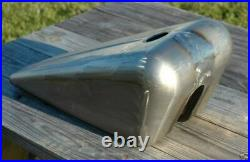 Wyatt Wicked 2.5 Gallon Stretched Gas Tank Harley Chopper Bobber Custom