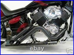Yamaha V Star 1100 Curburner Black Exhaust EXTREME XVS1100 V-Star VStar