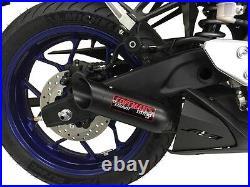 Yamaha YZF- R3 2015 2016 2017 2018 2019 2020 2021 Coffman Exhaust with Heat Shield